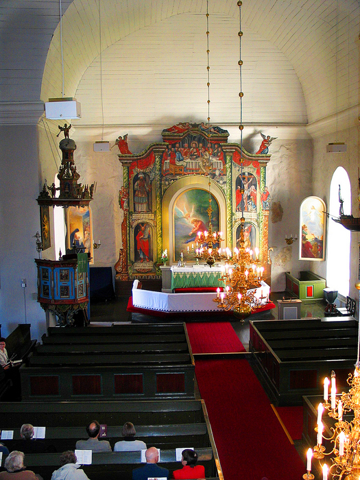 Ville inte ga i kyrkan botfalldes