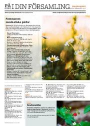 Programmet i stiftet i pdf-format för tiden 28.6–11.7.
