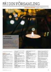 Programmet i stiftet för tiden 15.11–1.12.