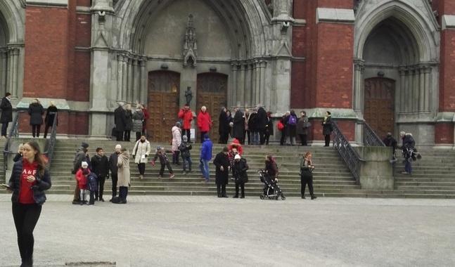 Johanneskyrkan är en viktig knutpunkt för församlingen.