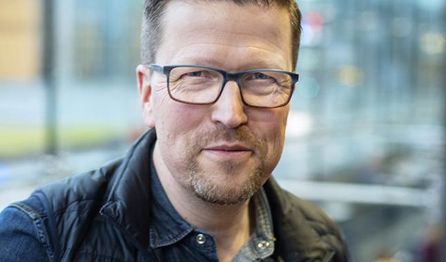 Klaus Härö säger att han i verkligheten var mer stridslysten än filmens Stefan.