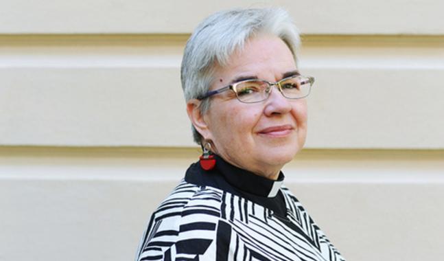 Monica Heikel-Nyberg är kaplan i Johannes församling.