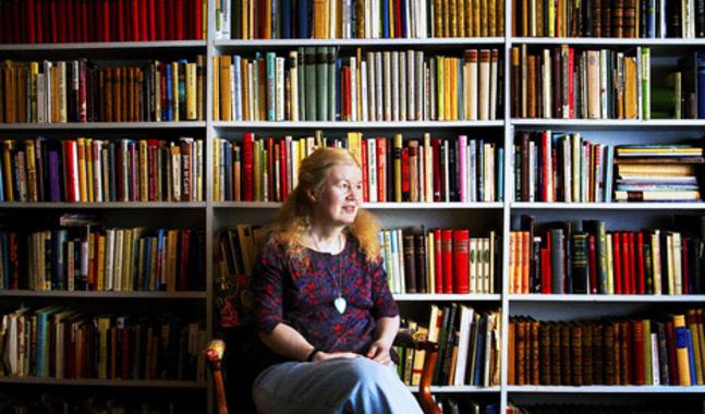 Vibeke Olsson har skrivit en bok om en hus som hon �lskat.
