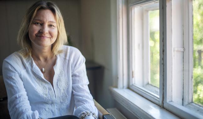 Pernilla Sundell har aldrig känt av sin cancer eller mått dåligt av den. Hon har bara känt trötthet av behandlingen.