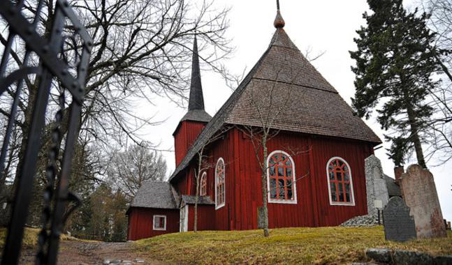Ulrica Eleonora kyrkas framtid �r oviss.