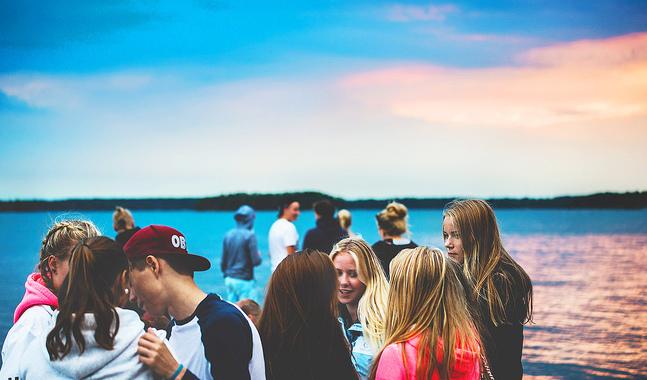 Lekholmen utanför östra Helsingfors välkomnar alla som behöver ett avbrott i vardagen