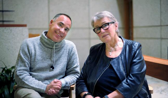 Jens berg och Hilkka Olkinuora delar erfarenheten att bryta upp från ett jobb med hög lön och prestige.