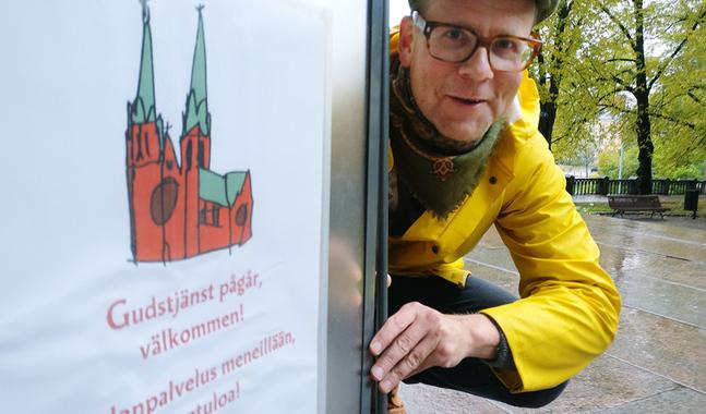 Allt från kraftfulla koraler och säckpipor till requiem och ljusmässa erbjuds under Johannes församlings gudstjänstvecka, berättar kantor Dag-Ulrik Almqvist.