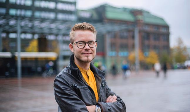 I dag går Patrick Tiainen i en pingstförsamling på studieorten i Kuopio. Där har han hittat en stöttande gemenskap. –Det låter fel att säga att de hjälpt mig hålla fast vid min tro. Inte har jag hållit fast, om inte Gud skulle ha hållit fast vid mig … ja, då vet jag inte.