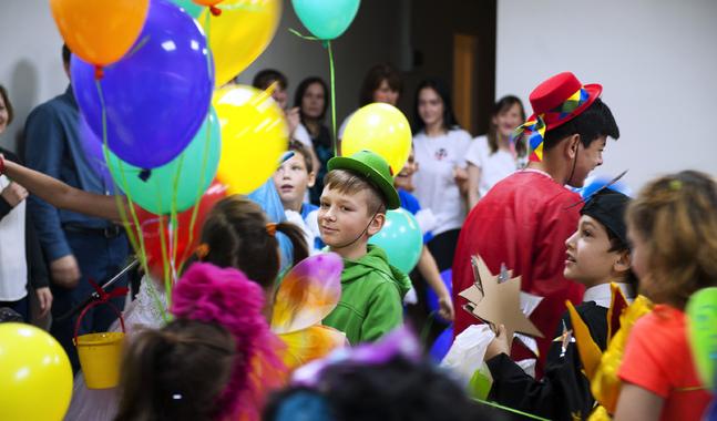 Det var festdag när barnhemmet Dikoni återinvigdes efter renoveringen.