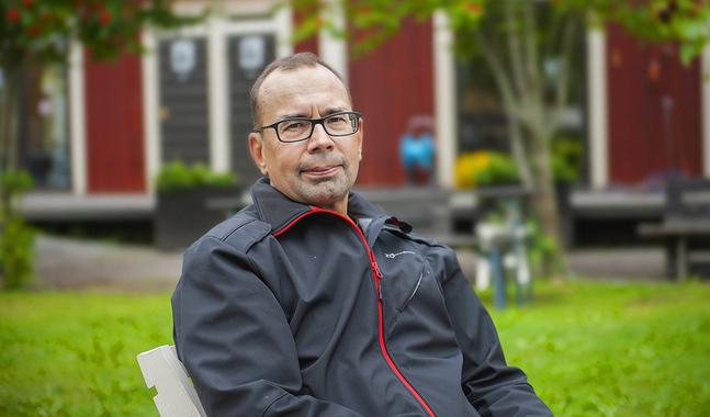Anders Björkman har plockat fram en inre styrka han inte visste fanns.