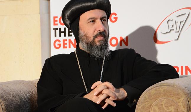 Biskop Angaelos leder den koptisk-ortodoxa kyrkan i Storbritannien. Han har fått utmärkelser för sitt ekumeniska arbete.