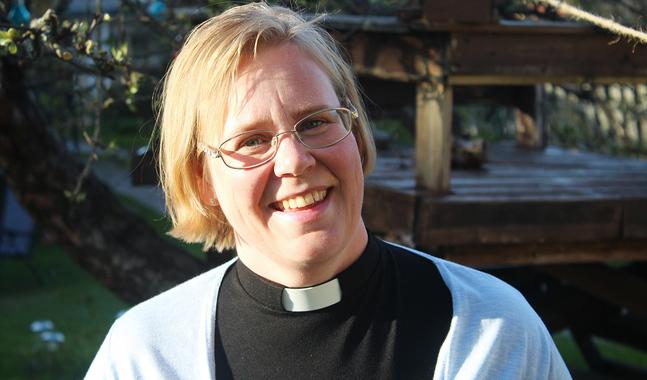 Camilla Ekholm är kyrkoherde i Sibbo svenska församling.