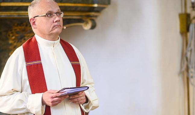 Biskop Bo-Göran Åstrands visitation i Korsnäs församling blir mycket avskalad.