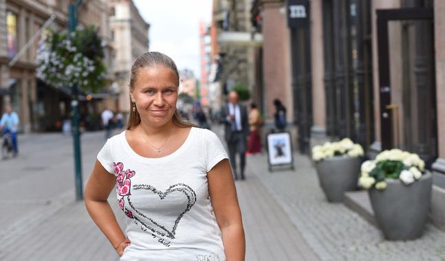 I dag studerar Nina Nores-Syvänen för att bli psykoterapeut.