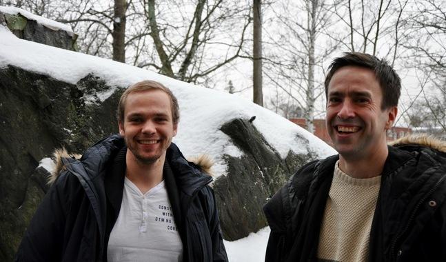 Benjamin Sandell och Fredrik Kass har varit med i planeringsgruppen för Disciple 17.