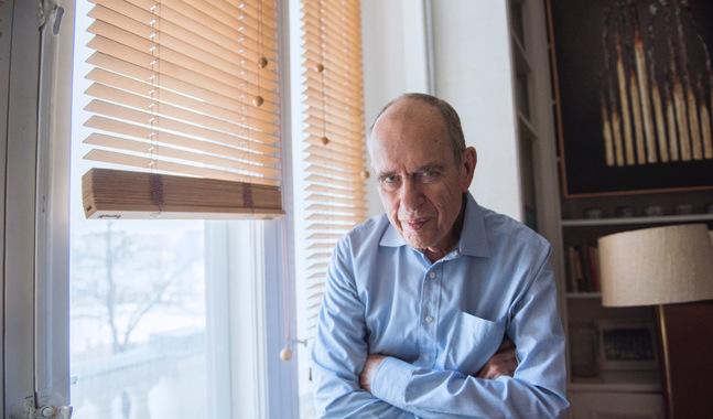 """""""Det är ingen fars"""", säger Jörn Donner om att blir gammal."""