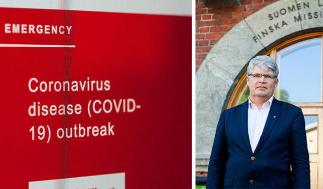 – Epidemin har gjort det omöjligt för många att utföra sitt arbete, säger verksamhetsledare Rolf Steffansson.