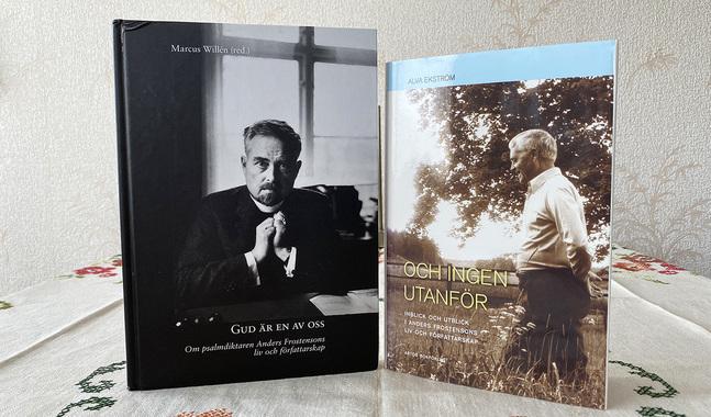 Det har skrivits otaliga böcker om den omåttligt produktiva och populära psalmförfattaren Anders Frostenson.