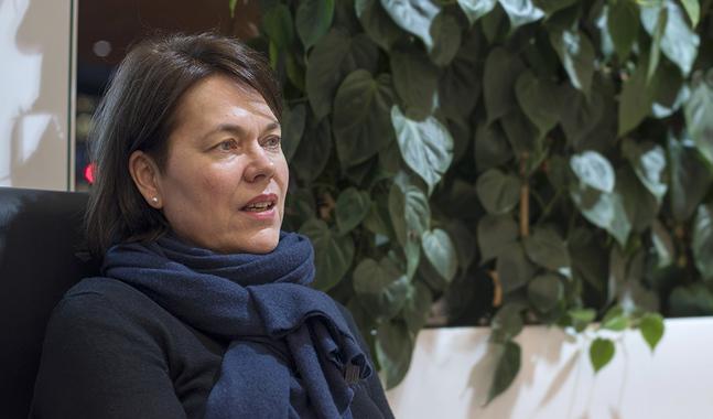 Martina Harms-Aalto är ny förtroendevald i Johannes församling.