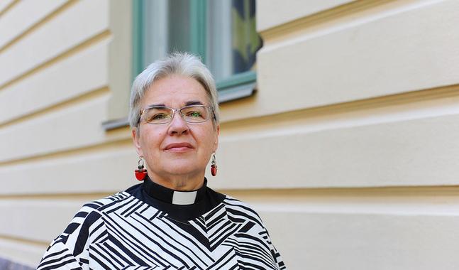 Monica Heikel-Nyberg �r kaplan i Johannes f�rsamling.