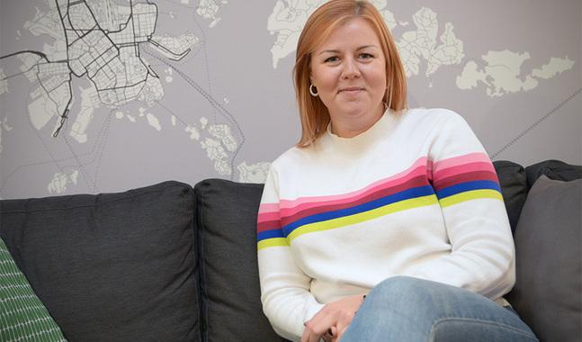 Ida-Maria Pekkarinen längtar inte tillbaka till frisörsalongen.