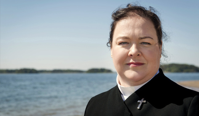 Janette Lagerroos är kaplan i Houtskärs kapellförsamling.