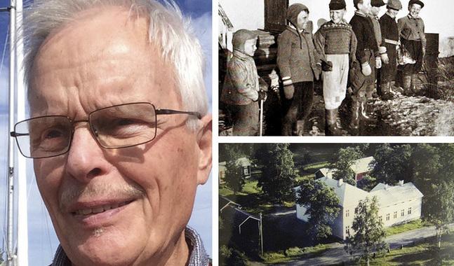 Ossi Pursiainen är född under de barnrika åren efter kriget. Gamla Vasa folkskola stod där det i dag finns en parkering vid Korsholms kyrka.