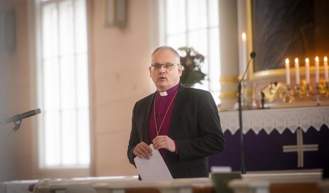 Biskop Bo-Göran Åstrand vill poängtera att församlingen finns där för alla medlemmar som behöver den.