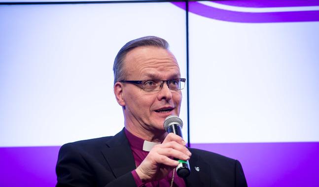 Ärkebiskop Tapio Luoma.