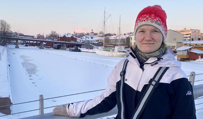 Mira Soukka vill väcka tankar, inte komma med pekpinnar i miljötänket.