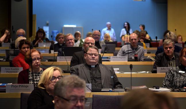 Pekka Huokuna är ny kanslichef på kyrkostyrelsen.