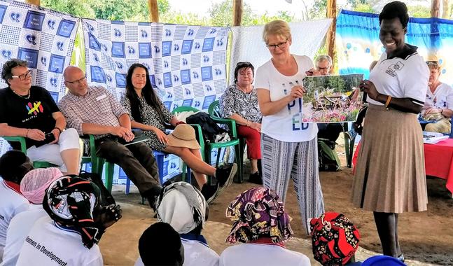 Nina Andrén deltog i en resa till Uganda Hösten 2019.