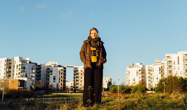Det är i Nordsjö Sara Razai känner sig hemma just nu. Hon har alltid hellre bott i stadsdelar där hon vet att många kulturer möts.