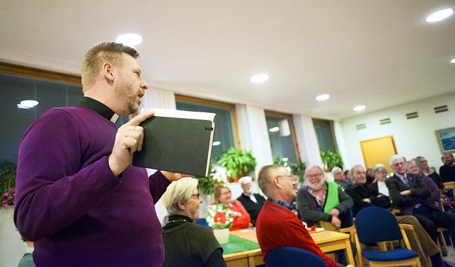 En minoritet behöver sina egna rum, poängterade Fred Wilén under onsdagskvällens möte.