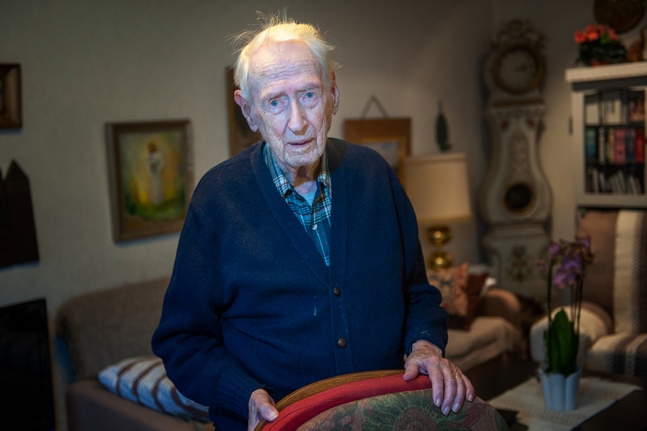 Bjarne Boije var en av nyckelpersonerna bakom Kyrkpressen för femtio år sedan.
