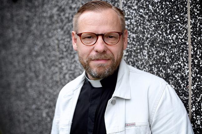 Fred Wilén är tf. kyrkoherde i Matteus församling.