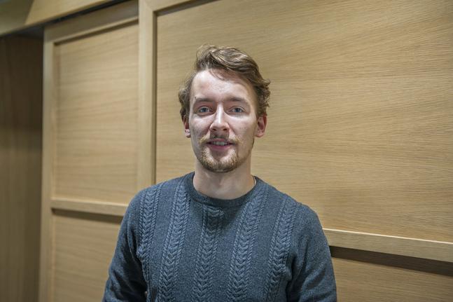 Oscar Rudnäs vill bli en så bra pappa som möjligt.