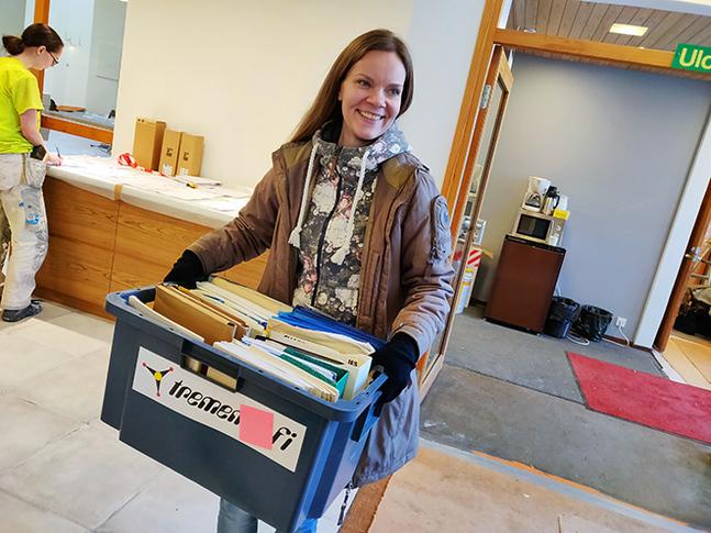 Rebecka Björk är projektkoordinator i Petrus församling.