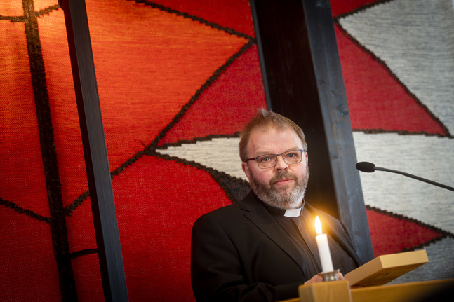 Mats Björklund tillträder som kyrkoherde i Korsholms svenska församling kring påsk.