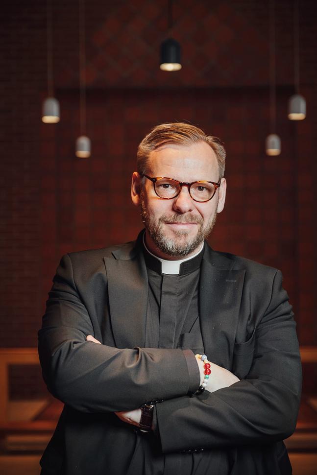 Fred Wilén jobbar som tf. kyrkoherde i Matteus församling.