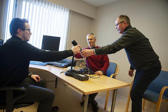 Lennart Ahlvik, Vesa Pöyhtäri och Per-Ole Hjulfors är några av Radio LFF:s medarbetare.
