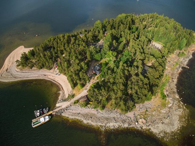 Lekholmen finns i Helsingfors östra skärgård.