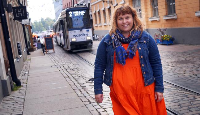 Sarah Tiainen är tjänstledig från din pastorstjänst i Metodistkyrkan i Jakobstad.