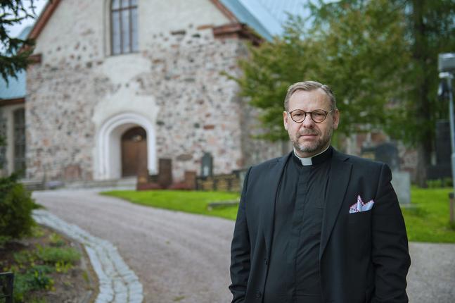 Fred Wilén är kyrkoherde i Kyrkslätts svenska församling.