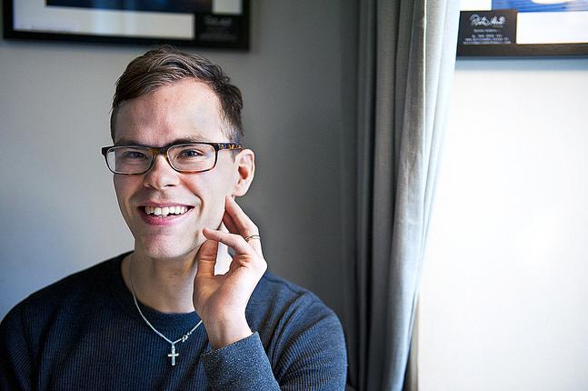 Alaric Mård siktar på att bli lärare i religion och psykologi.