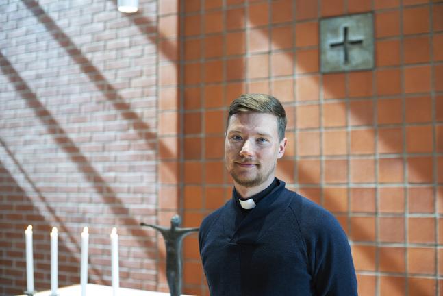 Kristian Willis jobbar för tillfället som pastor för det engelska arbetet i Helsingfors.