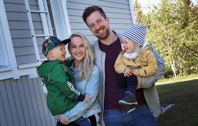 Att blir pappa var en större omställning än jag någonsin hade tänkt mig, säger Erik Abbor.