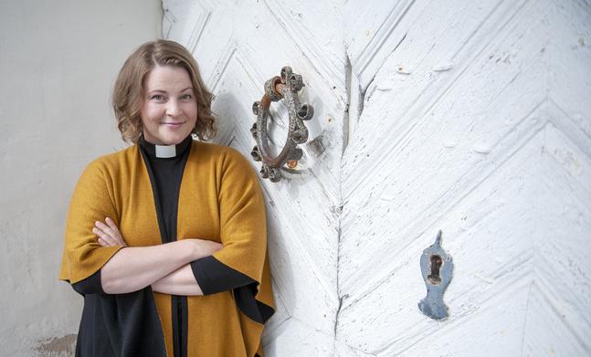 Mia Anderssén-Löf känner inspiration inför sitt nya jobb  i Pedersöre.