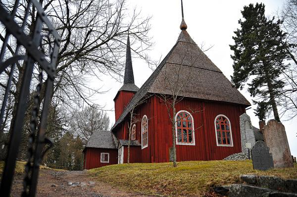 Ulrica Eleonora kyrkas framtid är oviss.